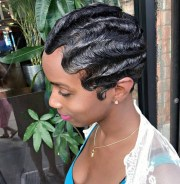 finger wave hairstyle ideas