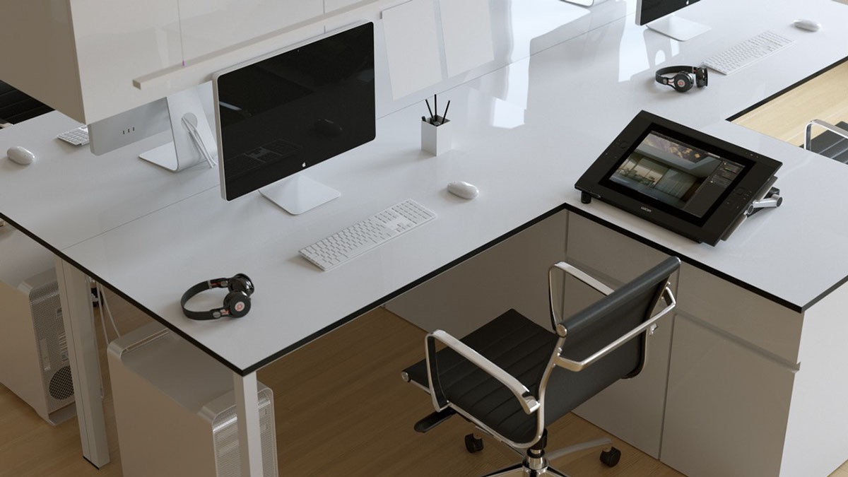 17 Minimalist Computer Desk Designs Ideas  Design