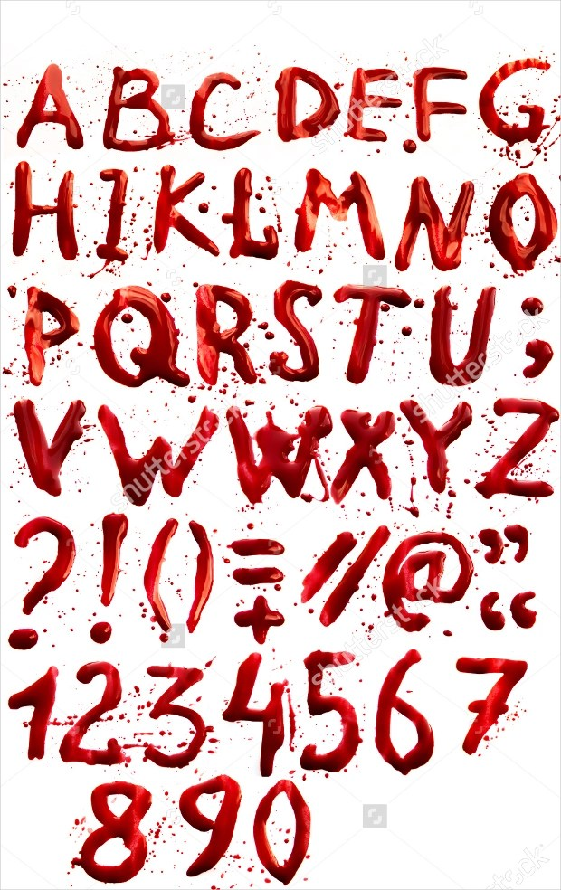 21 Scary Fonts  TTF OTF Download  Design Trends