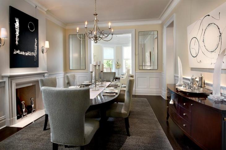 16 Dining Room Fireplace Designs Ideas  Design Trends