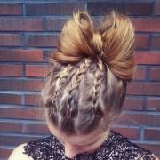 bow bun hairstyle ideas design