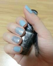 crackle nail art design ideas