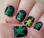 frog nail art design ideas