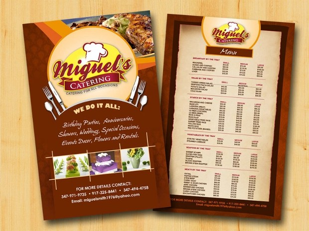 16 Best Catering Flyer Templates Ai PSD Docs Pages