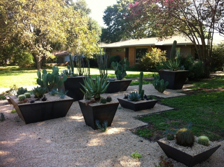 Landscaping Ideas Using Large Pots