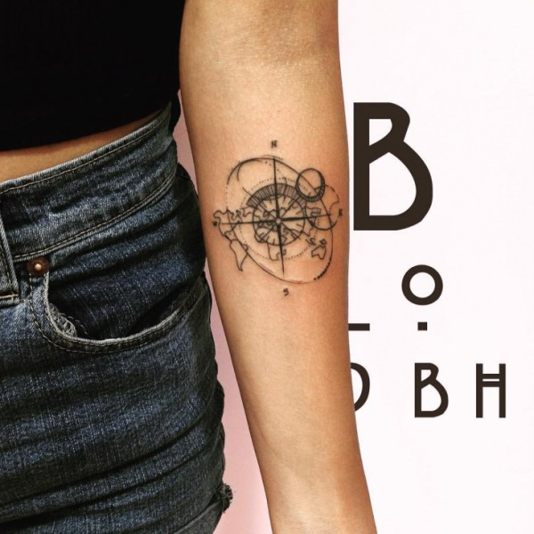 20+ Small World Tattoos For Girls Ideas and Designs