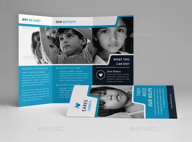 19 Non Profit Brochure Designs And Templates Design