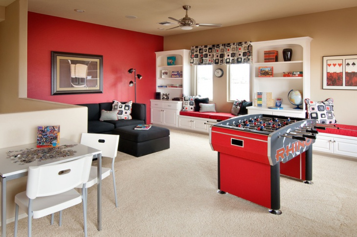 Make sure that the paint is suitable for the room that is being painted. 20+ Basement Game Room Designs, Ideas   Design Trends ...