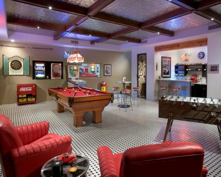 20 Basement Game Room Designs Ideas  Design Trends  Premium PSD Vector Downloads