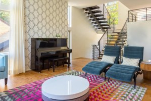18+ Living Room Stairs Designs, Ideas   Design Trends ...