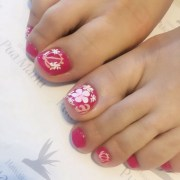 hawaiian nail art design