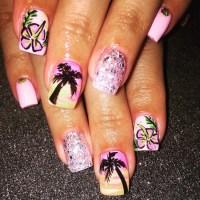 21+ Hawaiian Nail Art Designs, Ideas   Design Trends ...