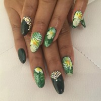 21+ Hawaiian Nail Art Designs, Ideas | Design Trends ...