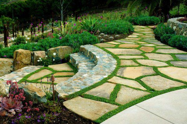 moss garden design ideas
