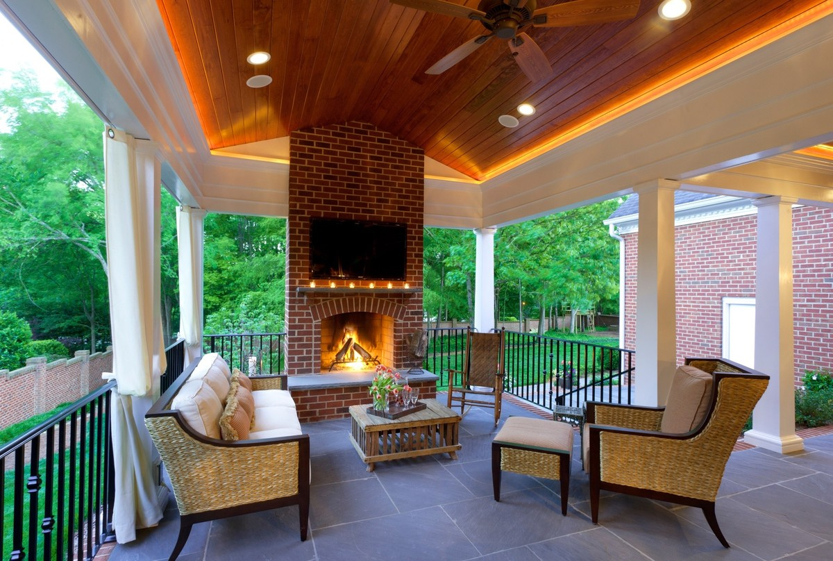 20+ Outdoor Ceiling Lights Designs, Ideas  Design Trends