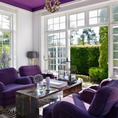 Lavender Sofa How To Clean Leather 18+ Purple Living Room Designs, Ideas | Design Trends ...