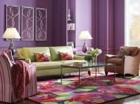 18+ Purple Living Room Designs, Ideas   Design Trends ...