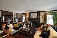 17+ Dark Living Room Designs, Ideas