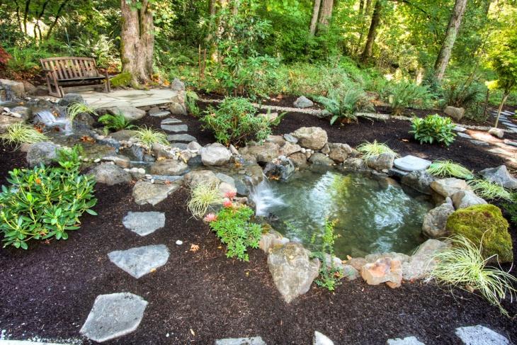 18 Garden Pond Designs Ideas  Design Trends  Premium PSD Vector Downloads