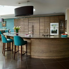 Portable Kitchen Island With Seating Wall Clocks 18+ Curved Designs, Ideas | Design Trends ...