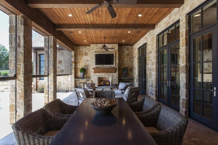 17+ Outdoor Ceiling Designs, Ideas