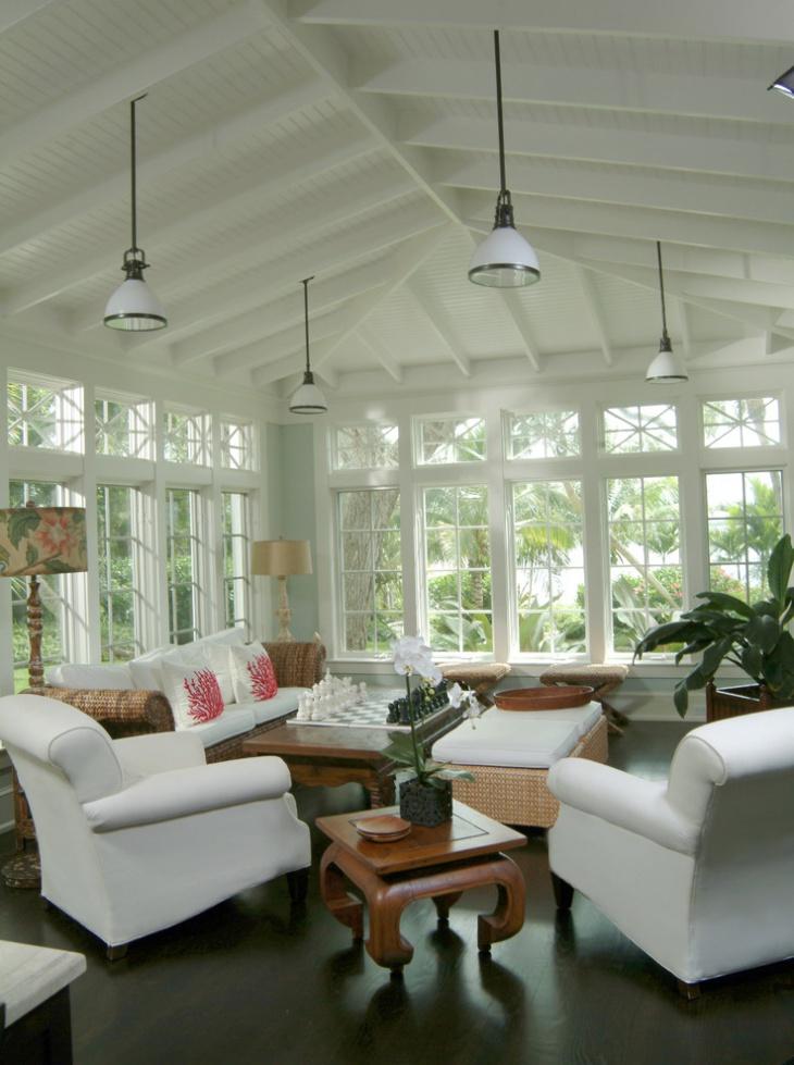 17 Sunroom Lighting Designs Ideas Design Trends