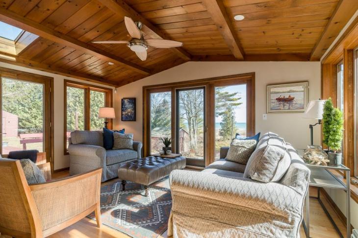 18 Sunroom Ceiling Designs Ideas  Design Trends