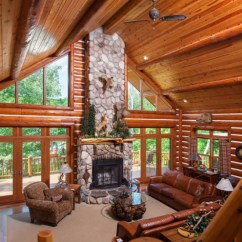 Living Room Borders Ideas Decorating Rooms In Blue And Brown 17+ Chalet Designs, | Design Trends ...
