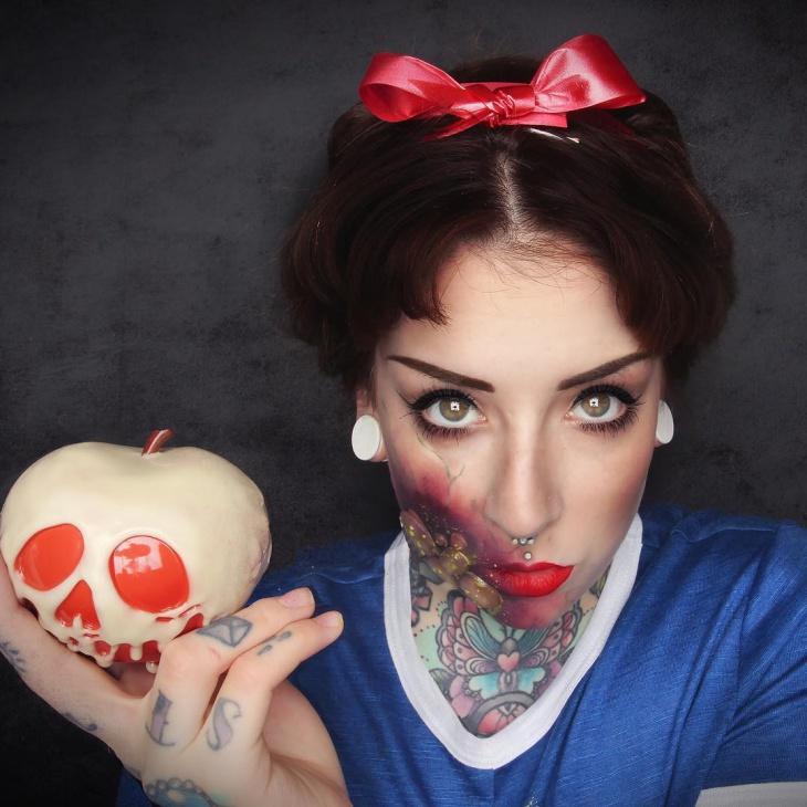 15 Snow White Makeup Designs Trends Ideas Design