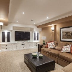 Transitional Style Sectional Sofas What Is A Jackknife Sofa 17+ Basement Lighting Designs, Ideas | Design Trends ...