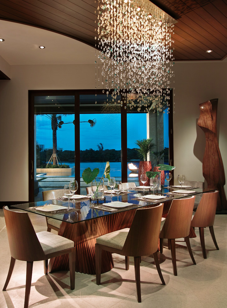 Dining Table Round Contemporary