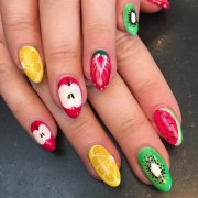 fruit nail art design ideas