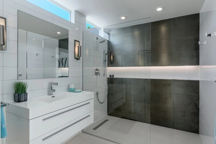17 Curbless Shower Designs Ideas Design Trends