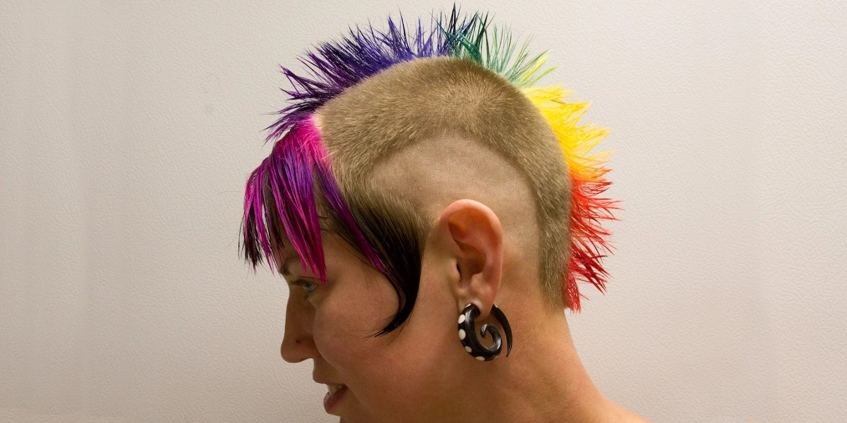 9 Hottest Rainbow Hair Designs Design Trends Premium