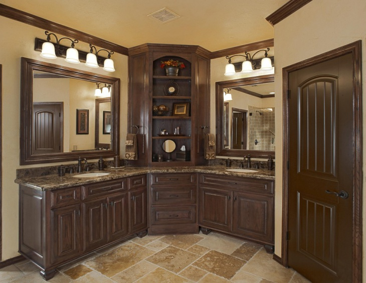 18 Bathroom Corner Cabinet Designs Ideas  Design Trends