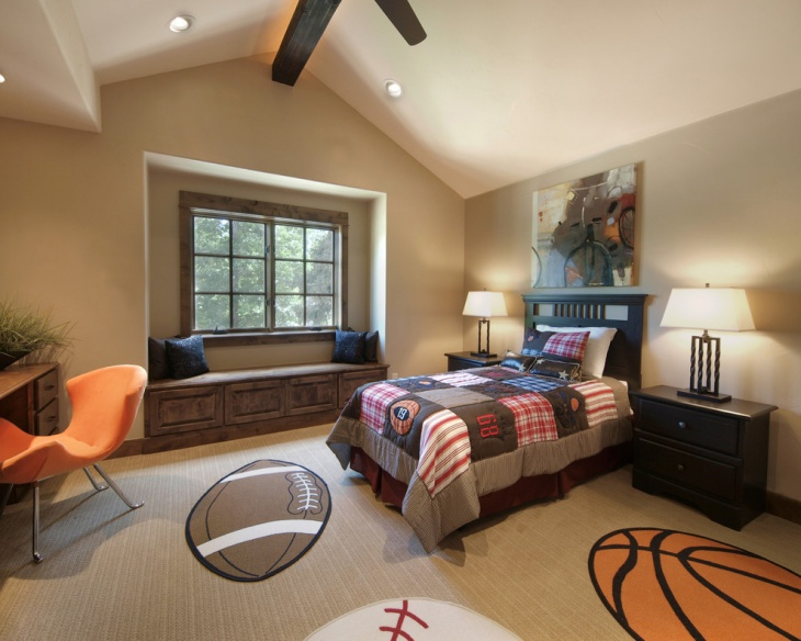 exciting boys sports room ideas bedroom