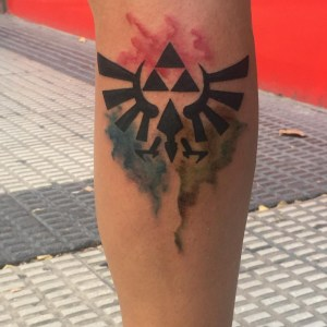 zelda tattoo triforce designs skin simple coloring awesome vector psd
