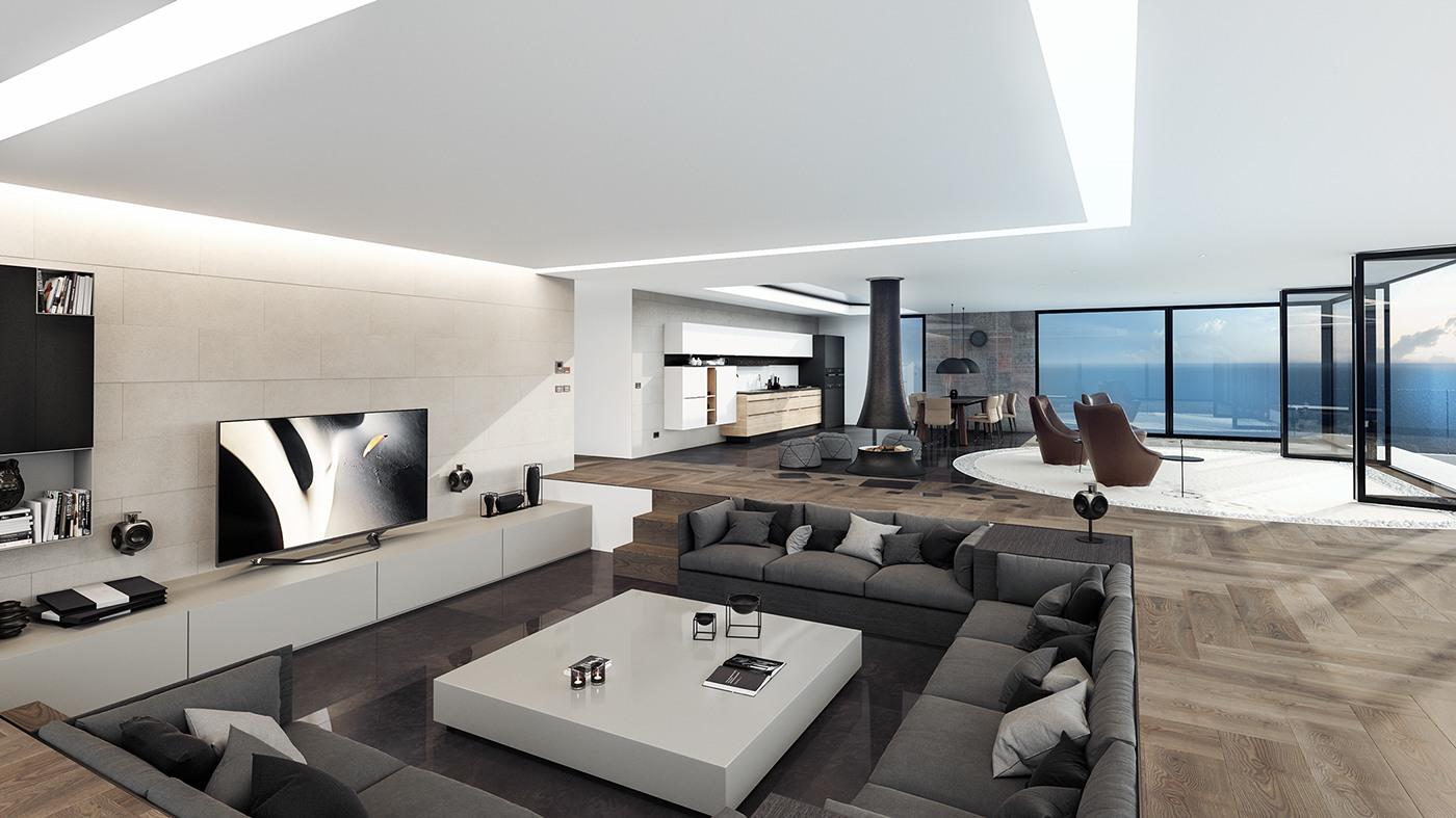 18Modern Penthouse Designs Ideas  Design Trends