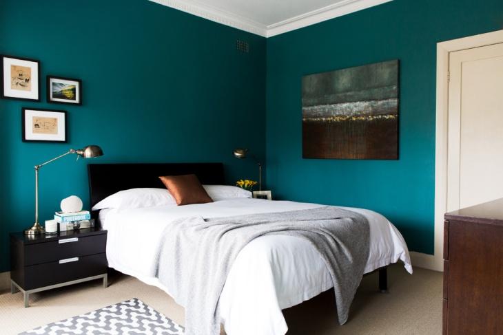 18 Teal Bedroom Designs Ideas  Design Trends  Premium PSD Vector Downloads
