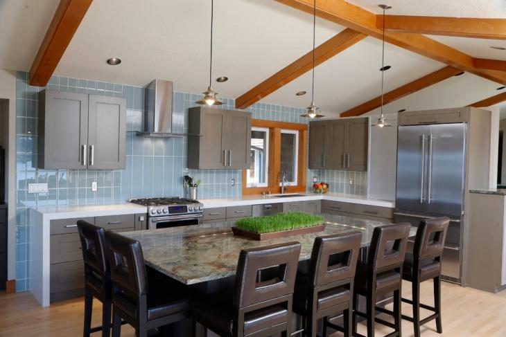 18 Rectangular Kitchen Designs Ideas  Design Trends