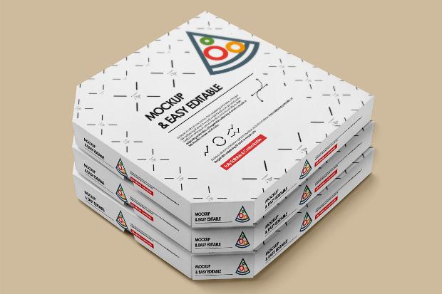 19 pizza box mockups