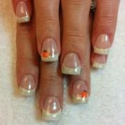 pumpkin nail art design ideas