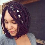 braided bob hairstyle design