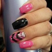 black nail art design ideas