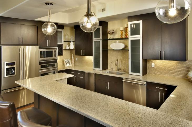 18+ Basement Kitchen Designs, Ideas