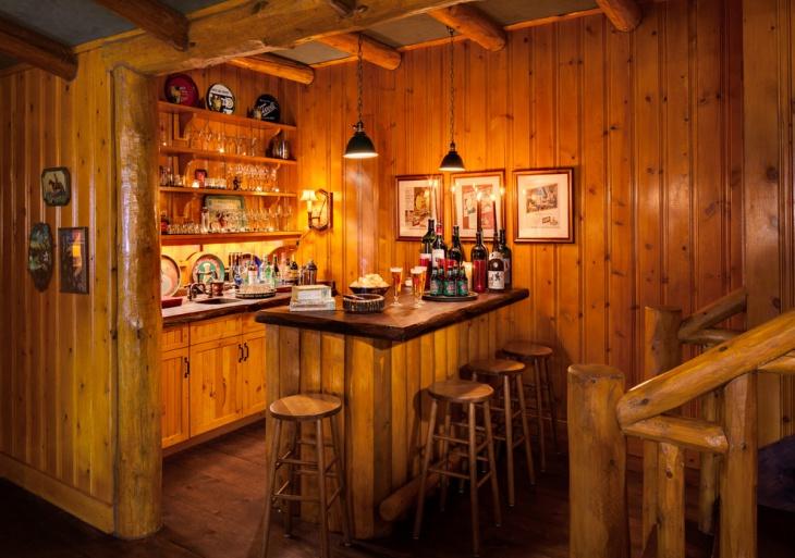 17 Rustic Home Bar Designs Ideas  Design Trends  Premium PSD Vector Downloads