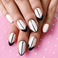 21+ Black and White Nail Art Designs, Ideas   Design ...