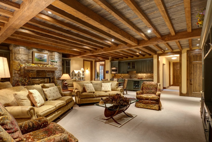 17 Basement Ceiling DesignsIdeas Design Trends