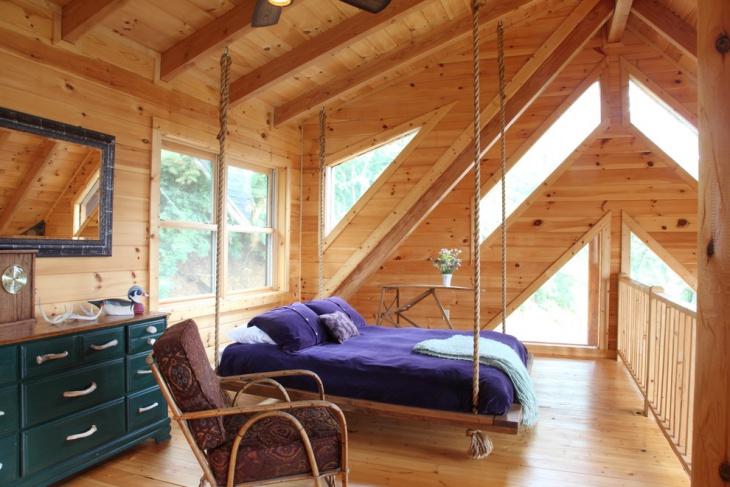18 Hanging Bed Designs Ideas  Design Trends  Premium