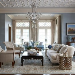 Grey Country Style Living Room Ideas Ceiling Lighting For Small 18 Designs Design Trends Premium Psd Blue